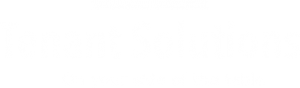 Logo van Tenant Solutions wit